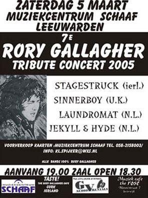 The 7th Rory Gallagher Tribute Concert 2005