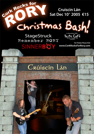 Cork Rocks For Rory Christmas Bash 2005