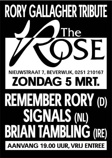 Rory Gallagher Tribute The Rose 2006