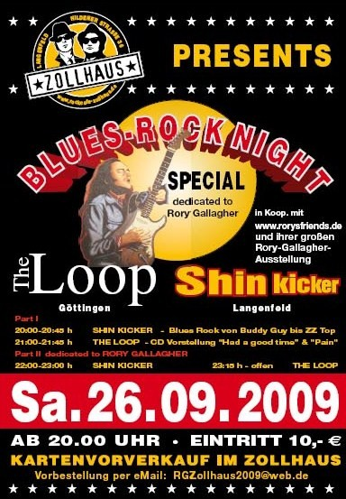 Zollhaus Presents Blues Rock Night