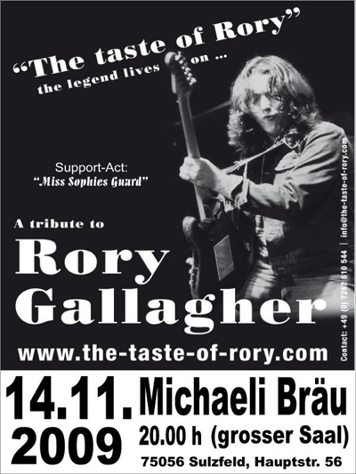 A Tribue To Rory Gallagher - Germany