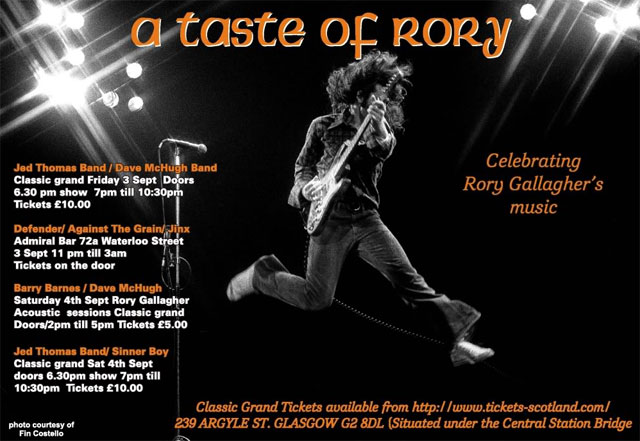 Taste of Rory Tribute