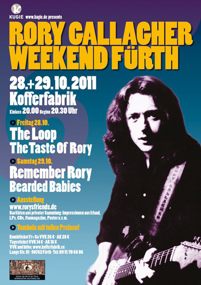Rory Gallagher Weekend Germany
