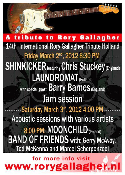 14th International Rory Gallagher Tribute Holland