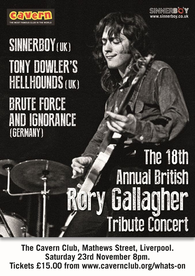 Rory Gallagher British Tribute