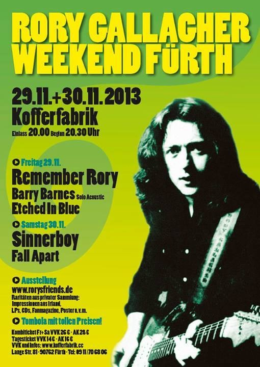 Rory Gallagher Germany Tribute